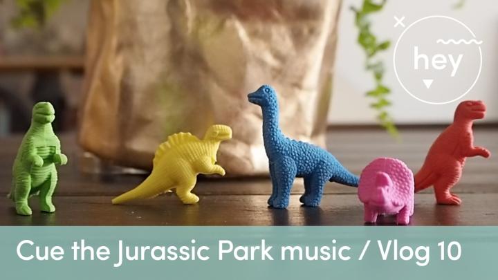 My latest vlog…cue the Jurassic Parkmusic