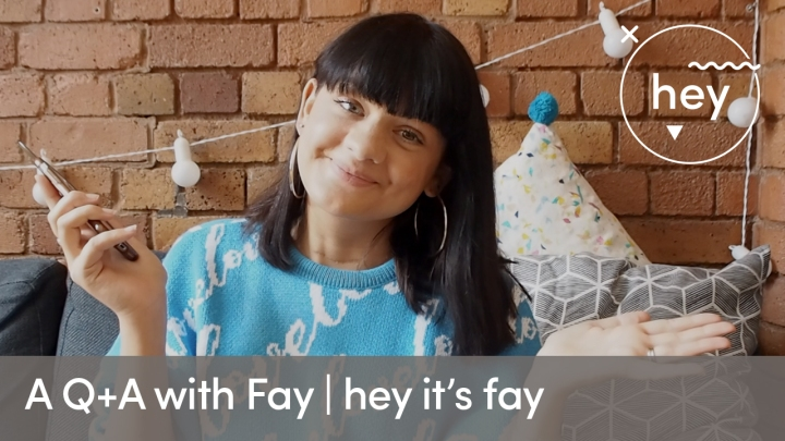 A Q + A with Fay x
