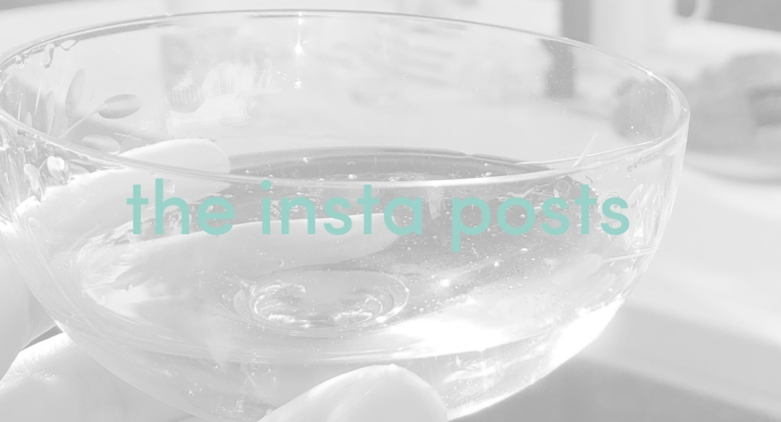 A toast…